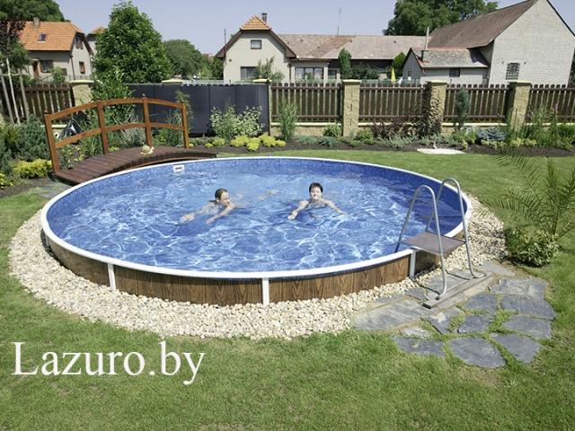 Каркасный бассейн Azuro 402 DL Mountfield