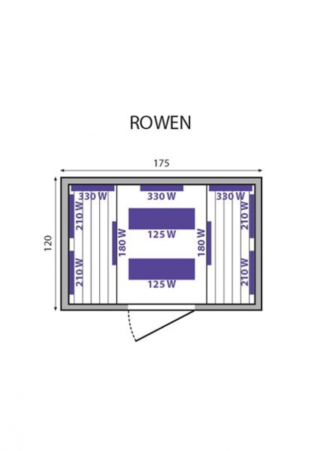 Инфракрасная сауна Rowen Mountfield