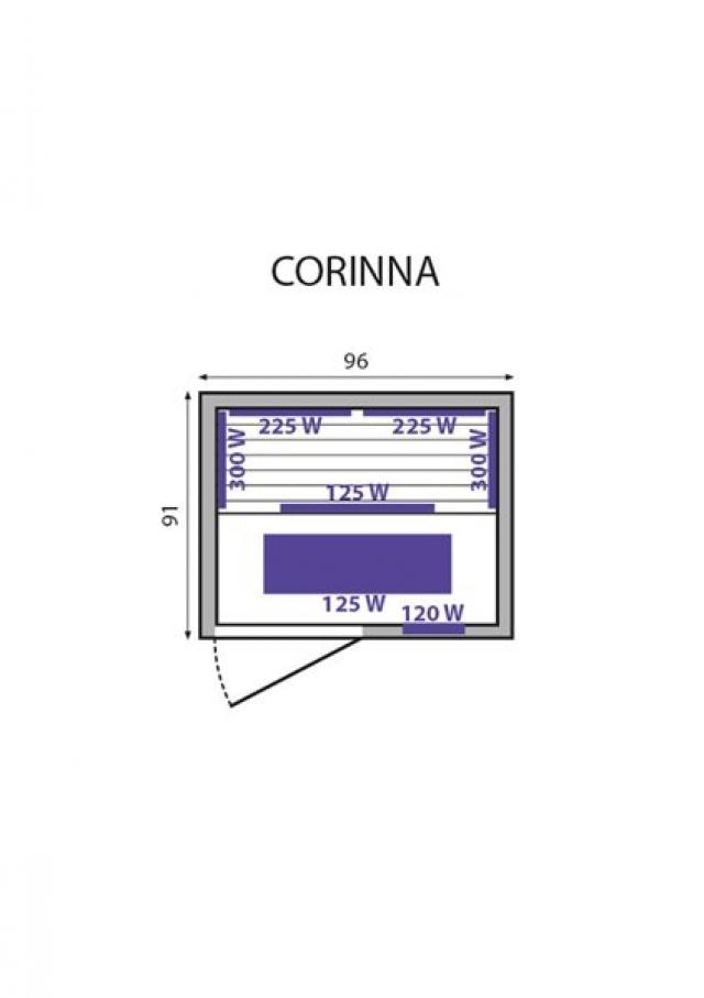 Инфракрасная сауна Corinna Mountfield