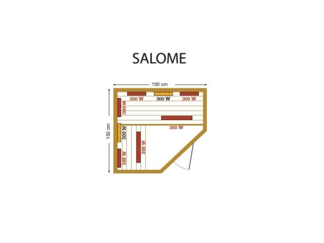 Инфракрасная сауна Salome Mountfield