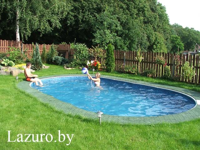 Каркасный бассейн Azuro 405 DL Mountfield