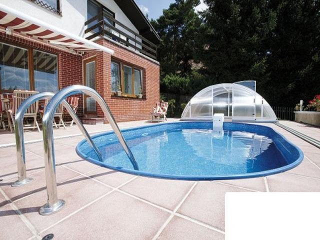 Каркасный Бассейн Ibiza Mountfield овальный (3,5мх7,0мх1,5м) без чашкового пакета