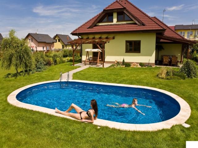 Каркасный Бассейн Ibiza Mountfield овальный (3,2мх5,25мх1,5м) без чашкового пакета