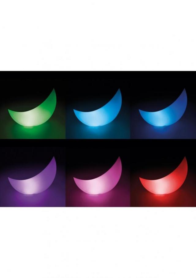Плавающий светодиодный полумесяц AZURO