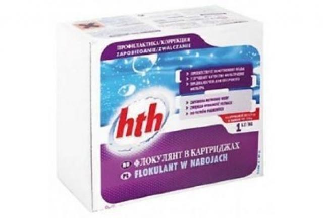Флокулянт в картриджах HTH, 1,25кг.S800800Н9