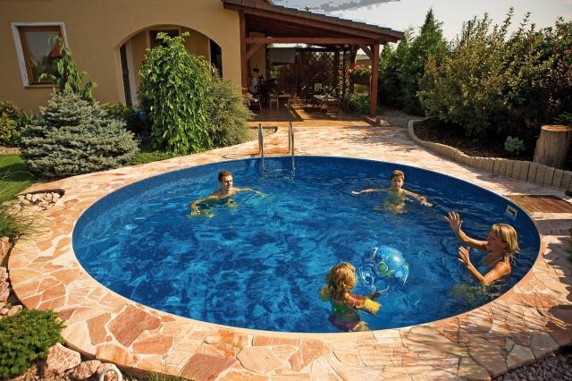 Каркасный Бассейн Ibiza Mountfield круглый (4,0мх1,2м)