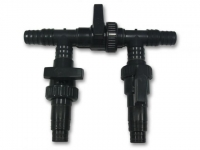 Байпасный узел (2-входа, 2-выхода, 3-крана)