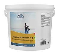 Аквабланк O2  в таблетках по 20г,  1кг, 5 кг (Германия)