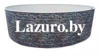 Каркасный бассейн Azuro Stone Mountfield (3,6мх1,2м)